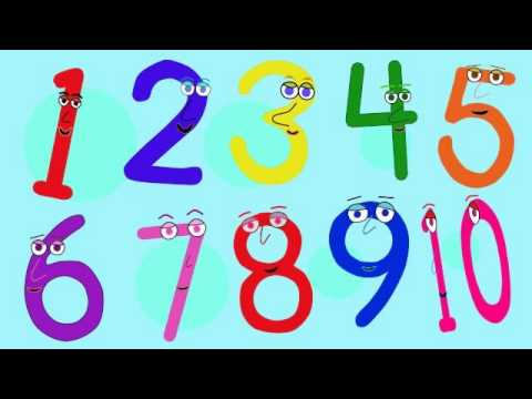10 Little Numbers (KidsTV123)