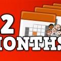 12 MONTHS!