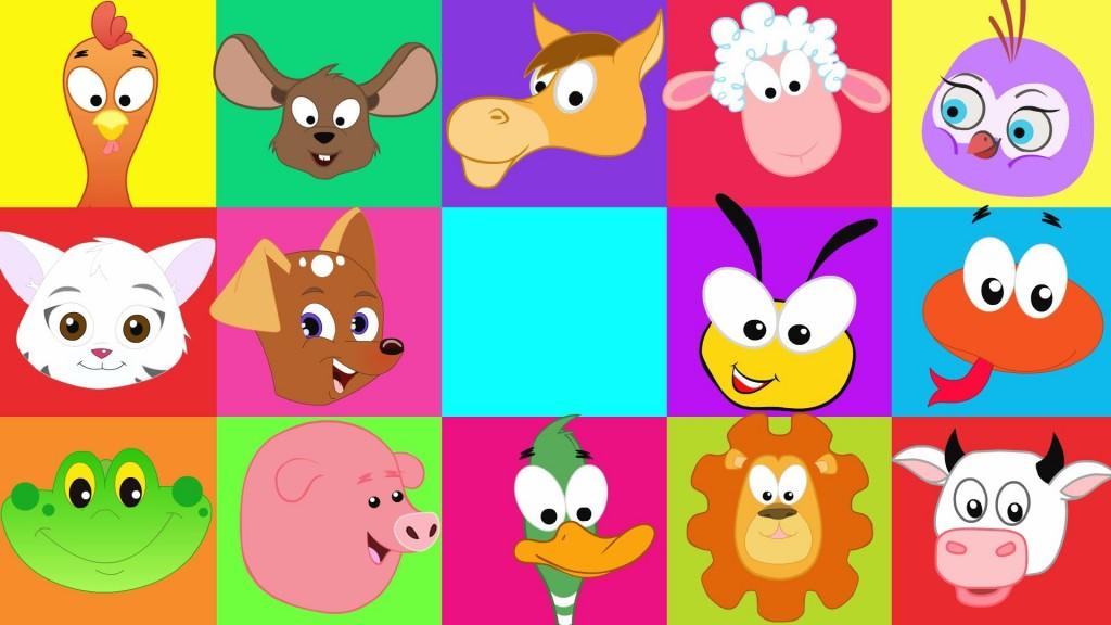 Animal sound song (Kidz TV)