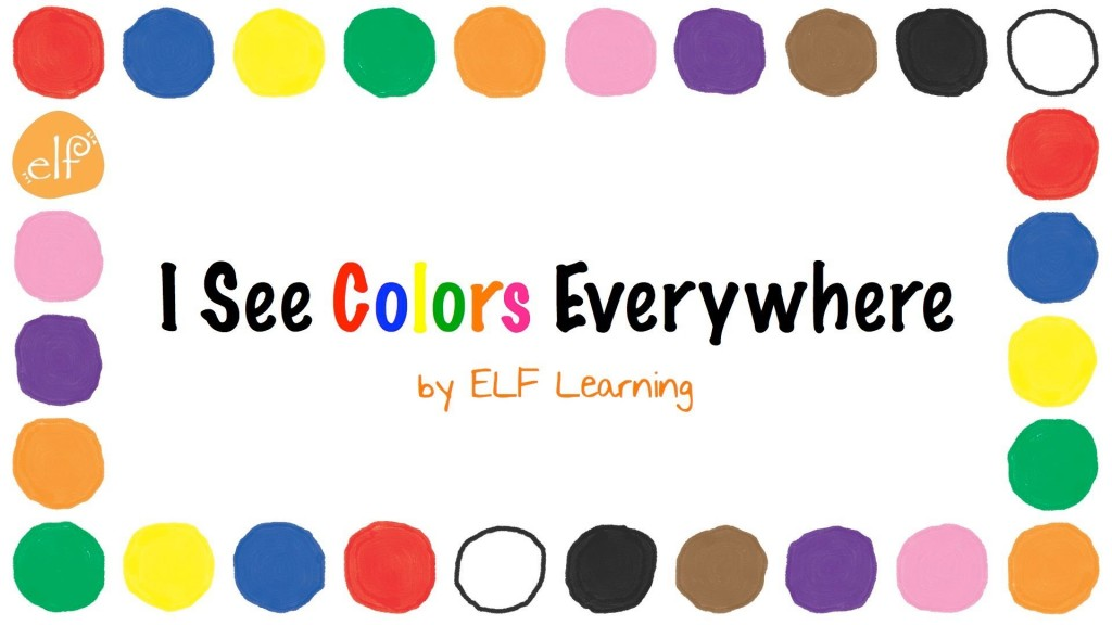 Colors Song for Children (ELF Kids Videos)