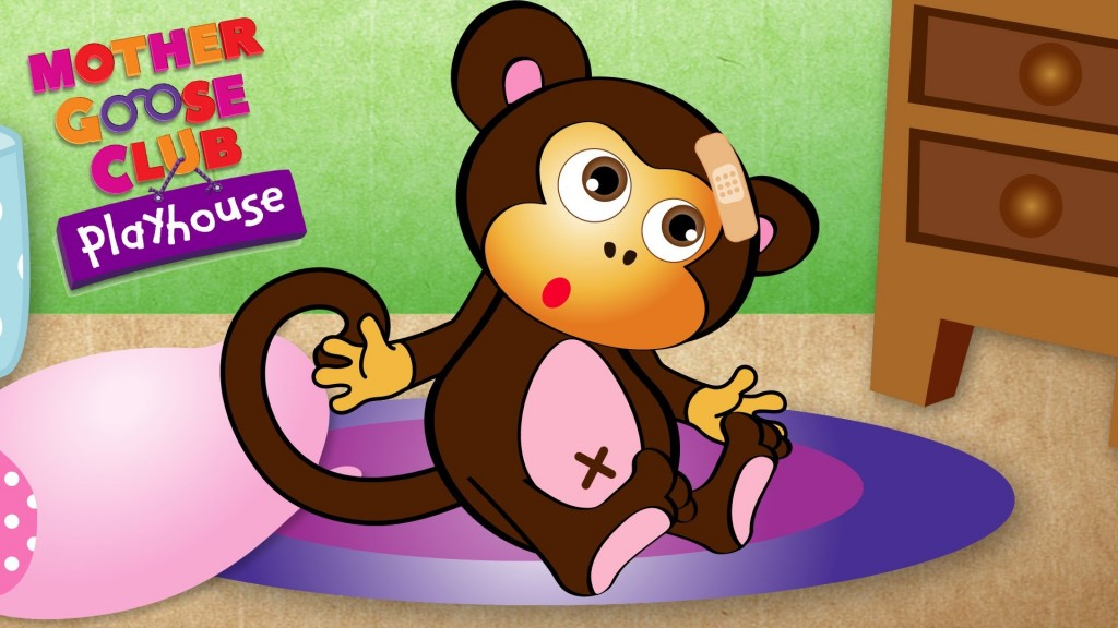 Five Little Monkeys Jumping on the Bed (Mother Goose Club)