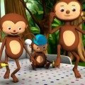 Five Little Monkeys Jumping On The Bed (Little Baby Bum)