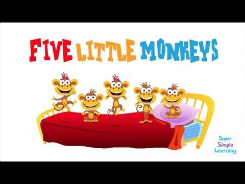 Five Little Monkeys (Super Simple Songs)