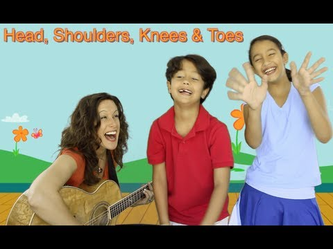 Head, Shoulders, Knees and Toes (頭・肩・ひざ・つま先)