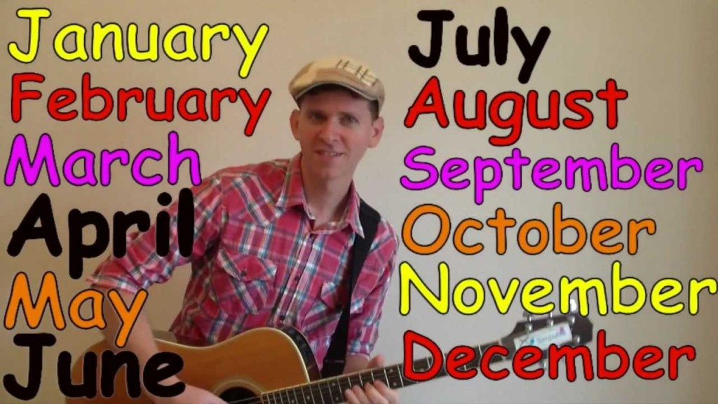 Months of the Year Song (Dream English Kids)