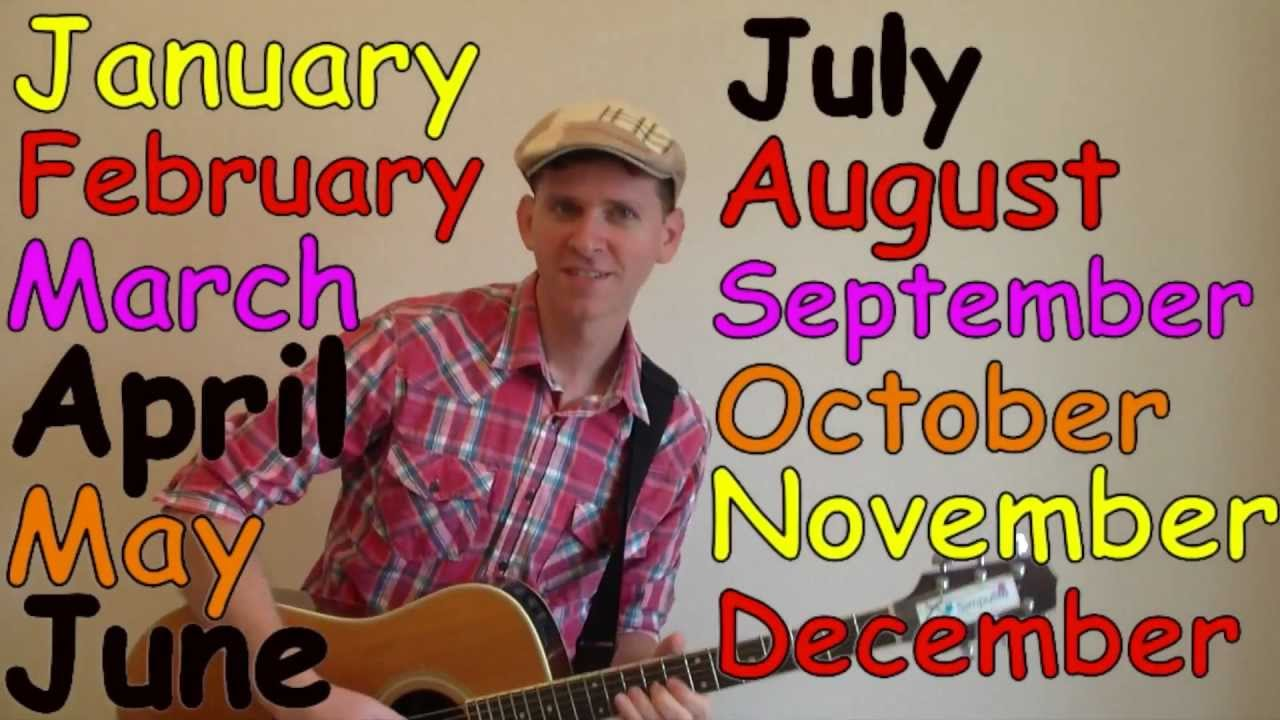 Days of the Week Song - The Learning Station Blog
