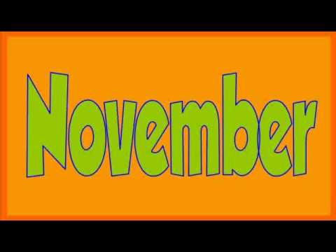 Months Of The Year Song (Kids TV123)