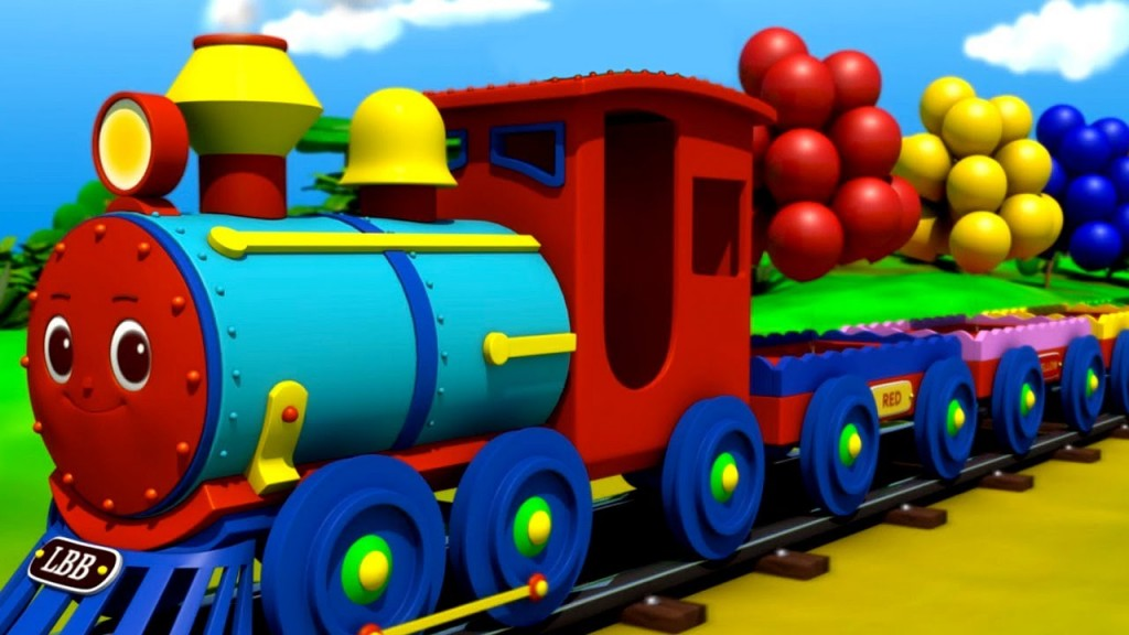 The Color Train Song!  (Little Baby Bum)