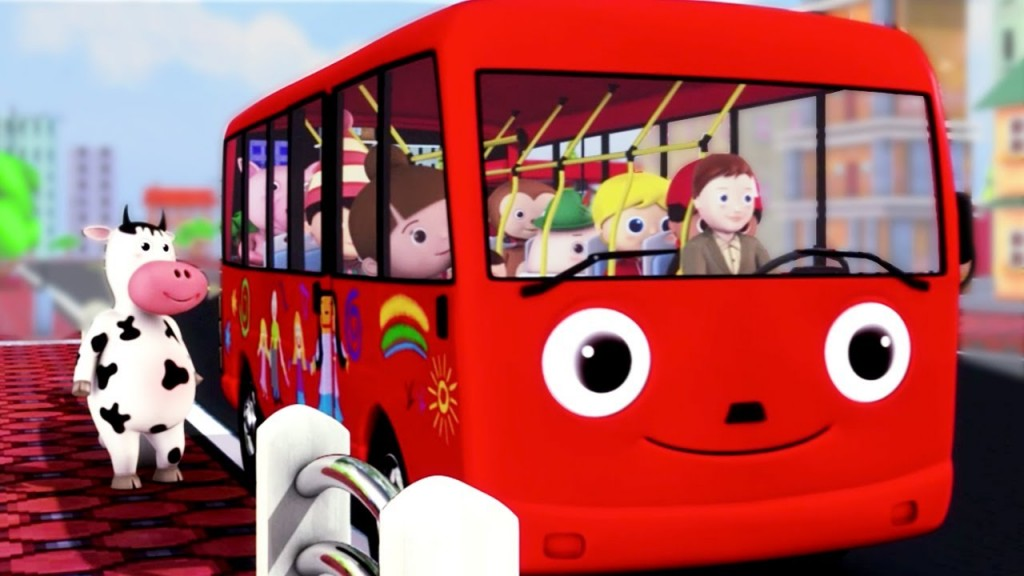 The Wheels On The Bus (Little Baby Bum)