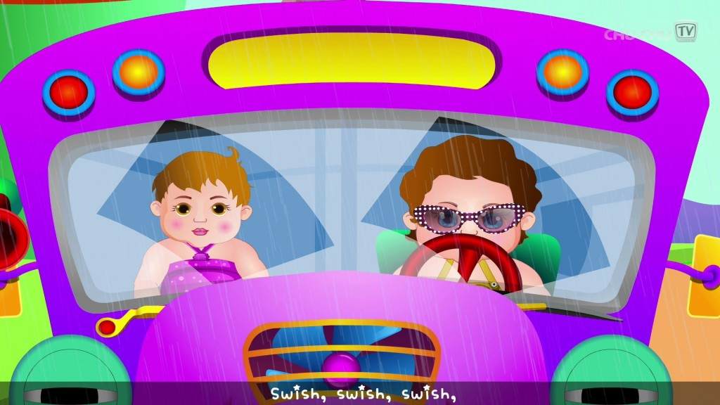 Wheels on the Bus Go Round and Round (ChuChu TV)