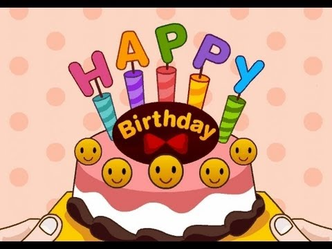 Happy birthday to you (お誕生日の歌)