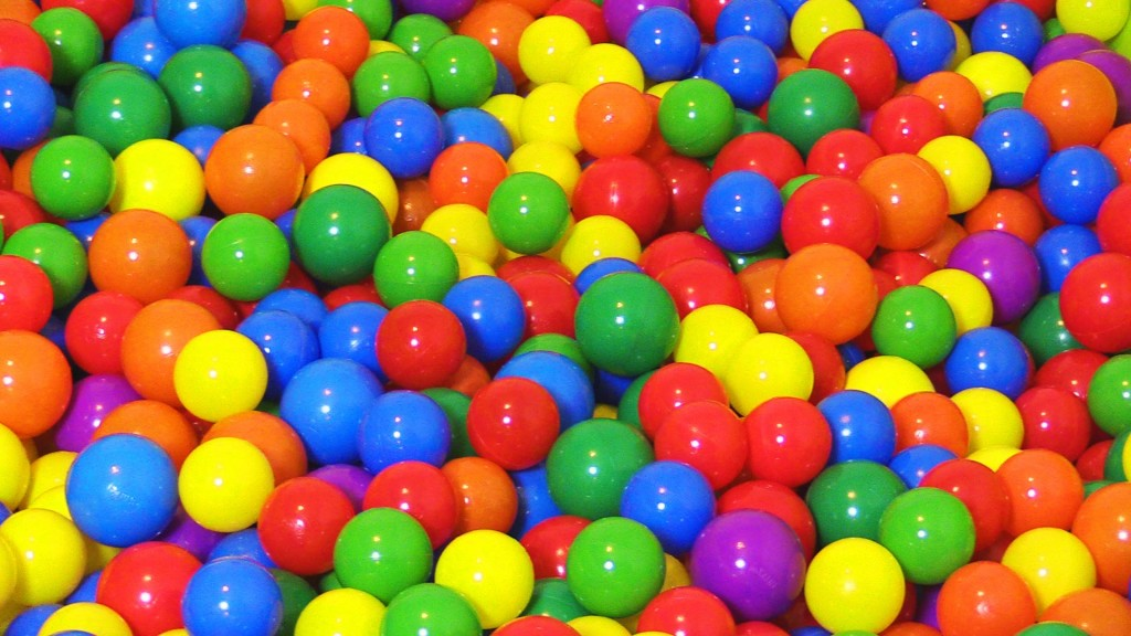 """The Ball Pit Show"" for learning colors — children's educational video"